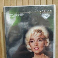Cine: MARILYN MONROE SUS ÚLTIMOS DÍAS - DVD PRECINTADO. Lote 295858818