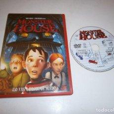 Cine: MONSTER HOUSE DVD. Lote 295880883