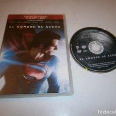 Cine: SUPERMAN EL HOMBRE DE ACERO DVD (SOLO DVD). Lote 295880993