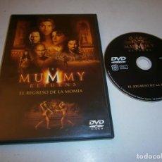 Cine: THE MUMMY RETURNS (EL REGRESO DE LA MOMIA) DVD BRENDAN FRASER. Lote 295881053