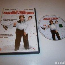 Cine: OS DECLARO MARIDO Y MARIDO DVD ADAM SANDLER KEVIN JAMES. Lote 295881093