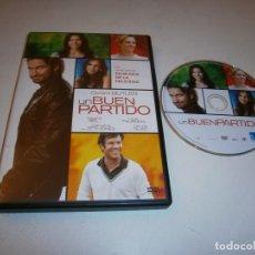 Cine: UN BUEN PARTIDO DVD GERAR BUTTLER. Lote 295881173