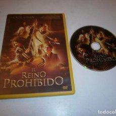 Cine: EL REINO PROHIBIDO DVD JACKIE CHAN. Lote 295881193