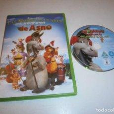 Cine: LAS SHREKCTACULARES NAVIDADES DE ASNO DVD. Lote 295881228