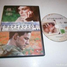 Cine: EXPIACION MAS ALLA DE LA PASION DVD JAMES MC AVOY KEIRA KNIGHTLEY. Lote 295881338