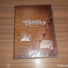 Cine: THE HUMAN CENTIPEDE (EL CIENPIES HUMANO) DVD EN CASTELLANO Y SIN CENSURA NUEVA PRECINTADA. Lote 296065528