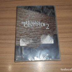 Cine: THE HUMAN CENTIPEDE 2 (EL CIENPIES HUMANO II ) DVD EN CASTELLANO Y SIN CENSURA NUEVA PRECINTADA. Lote 296065558