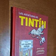 Cine: LOS CIGARROS DEL FARAÓN. LAS AVENTURAS DE TINTIN. DVD EN EXCELENTE ESTADO. SELECTA VISIÓN.. Lote 296910208