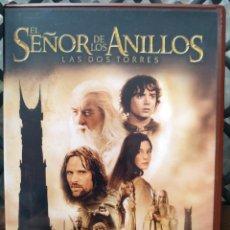 Cine: DVD --- EL SEÑOR DE LOS ANILLOS : LAS DOS TORRES (2 DVD) --- DE PETER JACKSON. Lote 297035078