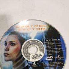 Cine: SD609 CONTROL FACTOR SOLO DISCO DVD. Lote 297045383