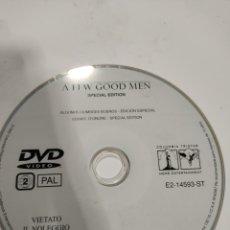 Cine: SD610 ALGUNOS HOMBRES BUENOS SOLO DISCO DVD. Lote 297045433