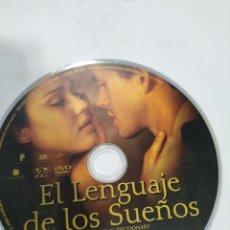 Cine: SD612 EL LENGUAJE DE LOS SUEÑOS SOLO DISCO DVD. Lote 297045698