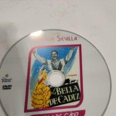 Cine: SD616 LA BELLA DE CÁDIZ SOLO DISCO DVD. Lote 297045898