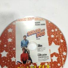 Cine: SD618 SOLOS LOS DOS SOLO DISCO DVD. Lote 297046033
