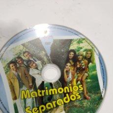 Cine: SD621 MATRIMONIOS SEPARADOS SOLO DISCO DVD. Lote 297046358
