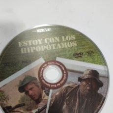 Cine: SD623 ESTOY CON LOS HIPOPÓTAMOS SOLO DISCO DVD. Lote 297046468