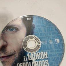 Cine: SD626 EL LADRÓN DE PALABRAS SOLO DISCO DVD. Lote 297046738