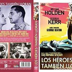 Cine: LOS HEROES TAMBIEN LLORAN DVD. Lote 297047403