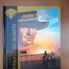 Cine: PELICULA DVD - LIBRO CENTAUROS DEL DESIERTO CON JOHN WAYNE. Lote 297051333