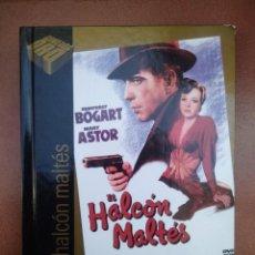 Cine: PELICULA DVD - LIBRO EL HALCON MALTES CON HUMPHREY BOGART. Lote 297051993