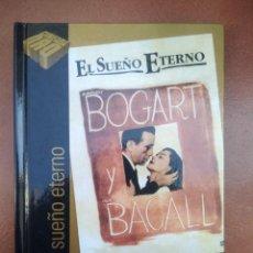 Cine: PELICULA DVD - LIBRO EL SUEÑO ETERNO CON BOGART Y BACALL. Lote 297052593