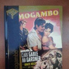 Cine: PELICULA DVD - LIBRO MOGAMBO CON CLARK GABLE Y AVA GARDNER. Lote 297053158