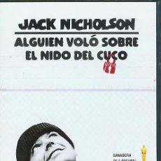 Cine: DVD ALGUIEN VOLO SOBRE EL NIDO DEL CUCO. Lote 24906928