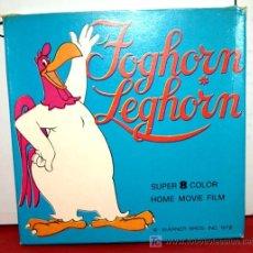 Cine: PELICULA FOGHORN LEGHORN SUPER 8 MM . Lote 8746720