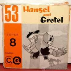 Cine: PELICULA HANSEL Y GRETEL SUPER 8 MM. Lote 8746905