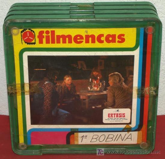 EXTASIS (1978) - LARGOMETRAJE 4 X 140 MTS (Cine - Películas - Super 8 mm)