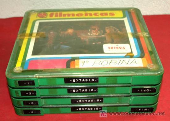 Cine: EXTASIS (1978) - LARGOMETRAJE 4 X 140 MTS - Foto 4 - 9310281