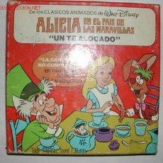 Cine: ALICIA EN EL PAIS DE LAS MARAVILLAS. UN TE ALOCADO. Lote 26618808