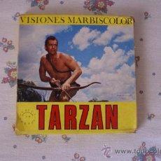 Cine: TARZAN TARZAN VUELBE A LA JUNGLA VISIONES MARBISCOLOR SONORO EN ESPAÑOL. Lote 10848259