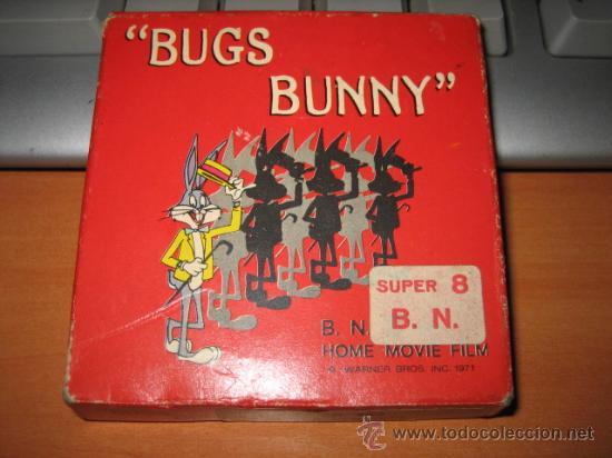 BUGS BUNNY SUPER 8 LO SCAMBIO BB 452 TECHNO FILM (Cine - Películas - Super 8 mm)