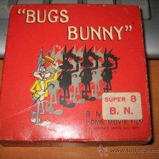 Cine: BUGS BUNNY SUPER 8 LO SCAMBIO BB 452 TECHNO FILM. Lote 13392395