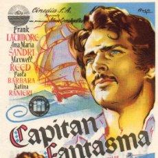 Cine: EL CAPITAN FANTASMA (1953 / RELIQUIA EN SUPER 8 / 700 M). Lote 13489169