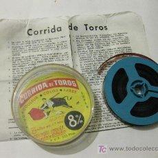 Cine: SUPER 8 CORRIDA DE TOROS - PLAZA DE TOROS MONUMENTAL DE BARCELONA. FERMIN BOHORQUEZ, JAIME OSTOS. Lote 26001909