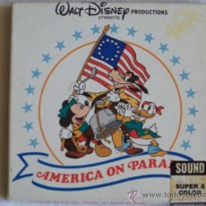 Cine: PELICULA SUPER 8 AMERICA ON PARADE WALT DISNEY. Lote 27151874