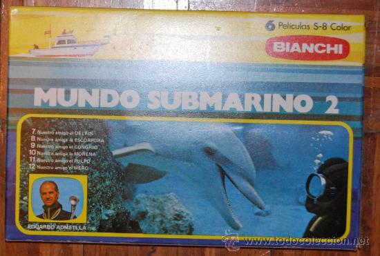 LOTE 6 PELICULAS SUPER 8 BIANCHI DOCUMENTALES MUNDO SUBMARINO 2 (Cine - Películas - Super 8 mm)