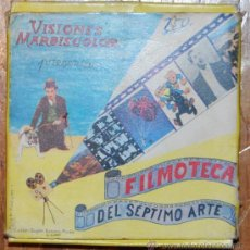 Cine: PELICULA SUPER 8 B/N EL FLACO DESDICHADO VISIONES MARBISCOLOR. Lote 26880191