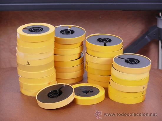 10 BOBINAS DE SUPER 8 KODAK VACIAS (Cine - Películas - Super 8 mm)