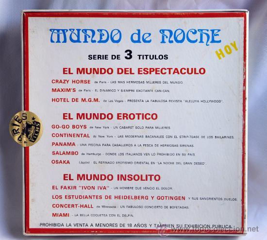 Cine: Película super 8 El Mundo insólito - Foto 3 - 24883805