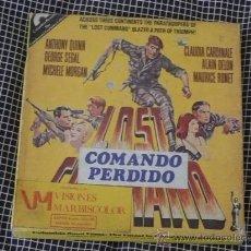Cine: COMANDO PERDIDO. SUPER 8 COLOR Y EN ESPAÑOL. LOST COMAND, 1966. Lote 26676955