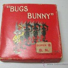 Cine: BUGS BUNNY - UN UOMO TENACE - SUPER 8 - B/N - TECHNO FILM - BB 451. Lote 27998243