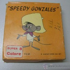 Cine: SPEEDY GONZALES - L'AVVOLTOIO - SUPER 8 - COLOR - SG 551 - TECHNO FILM. Lote 27998249