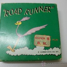 Cine: ROAD RUNNER - UN TRENO INSEGUITORE - SUPER 8- B/N - TECHNO FILM - RR 765. Lote 27998254