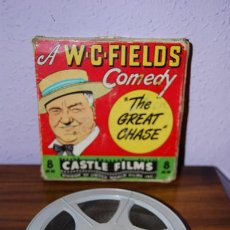 Cine: PELICULA SUPER 8 MM - THE GREAT CHASE - W.C.FIELDS - CASTLE FILMS. Lote 28204664