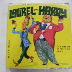 Cine: ANTIGUA PELICULA LAUREL AND HARDY - EL GORDO Y EL FLACO. Lote 28308411