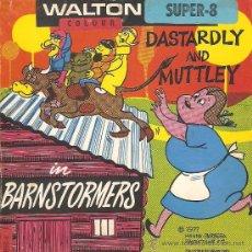 Cine: SUPER 8 - DASTARDLY AND MUTTLEY (EL ESCUADRÓN DIABÓLICO) BARNSTORMERS. Lote 29617026