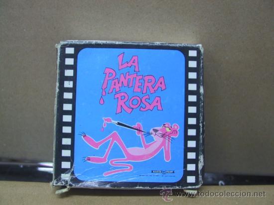 PELICULA SUPER 8 - LA PANTERA ROSA SE INDIGESTA DE MAIZ - BIANCHI (Cine - Películas - Super 8 mm)